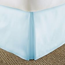 Premium Hotel Quality Pleated Bed Skirt Dust Ruffle by The Home Collection