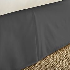 The Home Collection Premium Pleated Bed Skirt Dust Ruffle