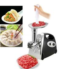 Stainless Steel 2800W Electric Meat Grinder Mincer Sausage Maker Stuffer X4H5