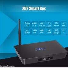 X92 TV Box Octa-Core 2.4GHz/5.8GHz WiFi HDMI USB 3GB+16GB/32GB with USB 2.0 AV