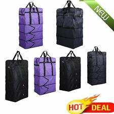 """36""""/40"""" Expandable Rolling Wheeled Duffel Bag Spinner Suitcase Duffle Bag Luggag"""
