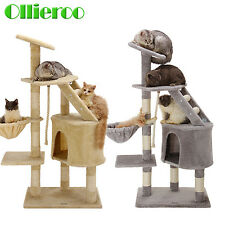 """48"""" Cat Tree Sisal Scratching Scratcher Condo Post Pet Tower Kitty Play House"""