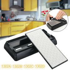 Double Sided Kitchen Knife Sharpener Sharpening Stone 400/600/1000/1200 Grit