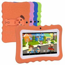 7'' 8GB Android 4.4 Children Learning Tablet PC Gift for Kids Dual Camera WIFI