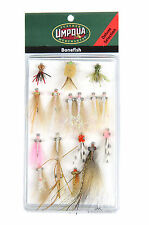 Umpqua Bonefish Fly Fishing Deluxe and Guide Fly Selections Assortments