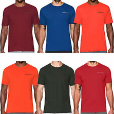 Under Armour UA Mens Charged Cotton Short Sleeve Running Gym T Shirt Top