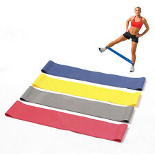 Fitness Weight Resistance Bands Exercise Loop Training Crossfit Strength