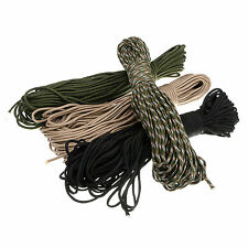 Outdoor Camping Hiking 100FT Paracord Parachute Cord Rope Lanyard 7 Strand Core