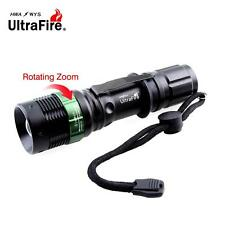 Ultrafire 8000LM Zoomable CREE XM-L T6 LED Flashlight+18650 Battery+Charger  TE