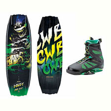 CWB Dowdy Wakeboard With MD Bindings 2017