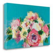 'First Blooms' by Leslie Bernsen Painting Print on Wrapped Canvas