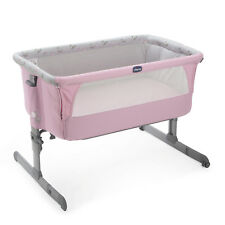 ORIGINAL Chicco Side Sleeping Crib Next2Me Silver Baby Crib Next 2 Me Co-Sleep
