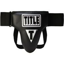 Title Boxing Unrestricted Comfort Groin Protector Plus - Black