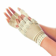 1 Pair Magnetic Therapy Fingerless Gloves Arthritis Pain Relief Heal Joints