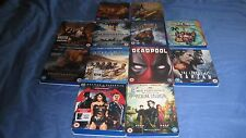 BLU RAY FILMS COLLECTION BUNDLE - GREAT FILMS - BARGAINS - FREE POSTAGE!!