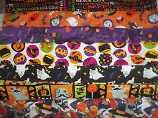 HALLOWEEN Trick or Treat BTY Cotton quilt FABRIC U-Pick See LISTING for INFO
