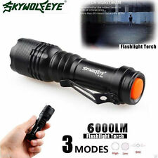 8000LM CREE Q5 AA/14500 3Mode ZOOM LED Super Bright Flashlight  Police TorchTR