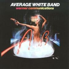 THE AVERAGE WHITE BAND - WARMER COMMUNICATIONS NEW CD
