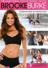 TRANSFORM YOUR BODY WITH BROOKE BURKE: STRENGTHEN & CONDITION NEW DVD