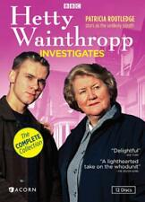HETTY WAINTHROPP INVESTIGATES - THE COMPLETE COLLECTION NEW DVD