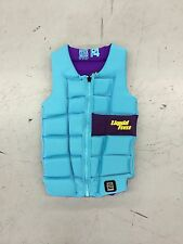 2016 Liquid Force Melody Impact Vest Aqua - Women's Impact Vest