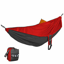 Eagles Nest Outfitters ENO Reactor Hammock - Red and Charcoal
