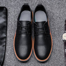 New Men's Smart Formal Casual PU Leather Lace Up Shoes Dress Party Work Office
