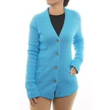 Cullen Cable Knit Long Sleeve Open Neck Cardigan Women Regular Sweater