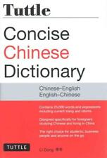 TUTTLE CONCISE CHINESE DICTIONARY - DONG, LI - NEW PAPERBACK BOOK