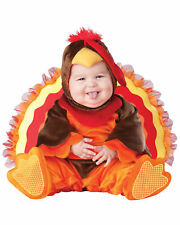 Lil' Gobbler Turkey Christmas Animal Deluxe Toddler Baby Boys Infant Costume