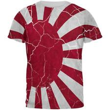 Distressed Japanese Rising Sun Flag All Over Mens T Shirt