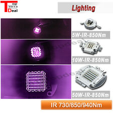 3W 10W 20W 50W 100W 200W 850nm/940nm/740 Infrared IR High Power LED Light Bulb