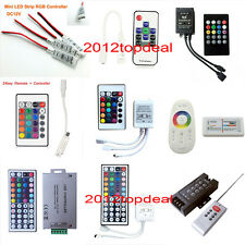 24 44 Key Music WiFi IR Remote Double Lines Controller For 5050 RGB Led Strips