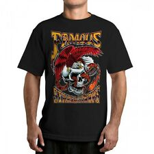 FAMOUS Stars and Straps Lightning  Strike T shirt Still famous graphic men's tee