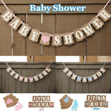 Borthday Decorations Cute Banner 1 Pcs Boy Baby Party Bunting Girl Baby Shower