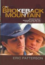 ON BROKEBACK MOUNTAIN - NEW HARDCOVER BOOK
