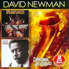 """DAVID """"FATHEAD"""" NEWMAN (SAX) - THE MANY FACETS OF/HEADS UP NEW CD"""