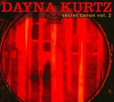 DAYNA KURTZ - SECRET CANON, VOL. 2 [DIGIPAK] NEW CD