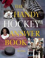 THE HANDY HOCKEY ANSWER BOOK - FISCHLER, STAN - NEW PAPERBACK BOOK