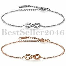 Womens Charm Infinity Anklet Ankle Bracelet Sandal Foot Chain Beach Sexy Jewelry