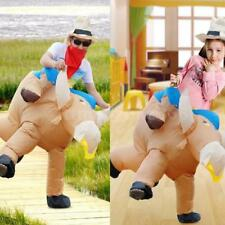 Anself Fashion Inflatable Cattle Costume Set Walking Moving Adult/Child New X9H9