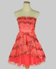 NEW MASQUERADE $100 Coral Juniors Evening Homecoming Party Cocktail Dress 9