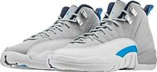 Brand New Boys Air Jordan 12 Retro BG 153265-007 Wolf Grey/Blue 100% Authentic