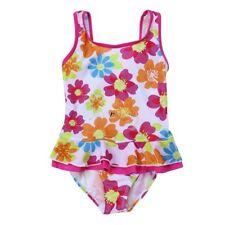 1pc Baby Kids Girls Floral/Striped Swimwear Bikini Tankini Swimsuit Bathing Suit