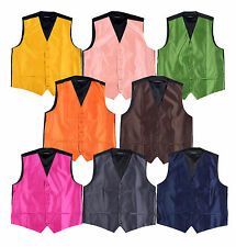 Cheap Solid Vest $10 Charcoal,Brown,Navy,Gold,Green,Peach,Fuschia,Orange