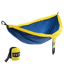 Eagles Nest Outfitters ENO DoubleNest Hammock - Sapphire and Yellow
