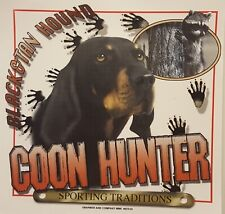 ALL AMERICAN OUTFITTERS COON HUNTER BLACK & TAN COON HOUND SHIRT #2516