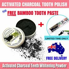 Organic Activated Charcoal Teeth Whitening Coconut Shell Powder Carbon Coco AU