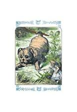 """""""Alice in Wonderland: Alice And The Enormous Puppy"""" Print [ID 546376]"""