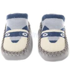 Newborn Baby Anti-Slip Socks Slipper Shoes Boots 0-12 Month Dog Shoes Cute